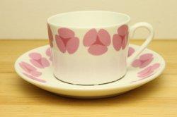 GUSTAVSBERG(グスタフスベリ)ROSA(ローサ)コーヒーカップ&ソーサー2