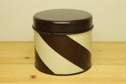 AARIKKA(アーリッカ)ストライプのティン缶S(ブラウン)