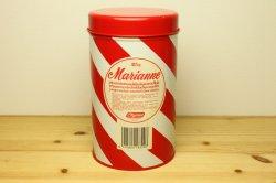 Chymos (キーモス) Marianne (マリアンヌ) ストライプのティン缶L(レッド)
