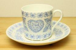 GUSTAVSBERG(グスタフスベリ)BORO(ボロ)コーヒーカップ&ソーサー