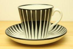 UPSALA-EKEBY/GEFLE(ウプサラ・エクビー/ゲフル)ZEBRA(ゼブラ)コーヒーカップ&ソーサー1