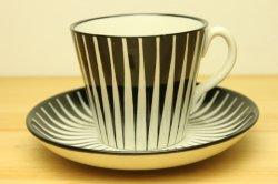 UPSALA-EKEBY/GEFLE(ウプサラ・エクビー/ゲフル)ZEBRA(ゼブラ)コーヒーカップ&ソーサー2