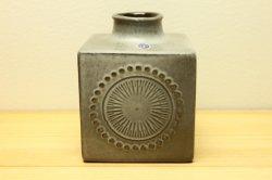 UPSALA-EKEBY/GEFLE(ウプサラ・エクビー/ゲフル)Goran Andersson キューブ型の花器 (G)