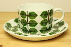 GUSTAVSBERG(グスタフスベリ)Bersa(ベルサ)ティーカップ&ソーサー1