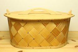 木蓋付きパイン材のボックス29