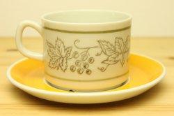 GEFLE(ゲフル)BIMBO(ビンボ)コーヒーカップ&ソーサー