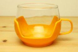 Melitta プラスチックホルダーガラスのカップ