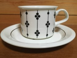 ARABIA(アラビア) KARTANO(カルタノ)コーヒーカップ&ソーサー