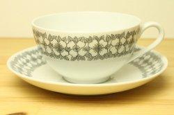 RORSTRAND(ロールストランド)Mimosa(ミモザ)ティーカップ&ソーサー1