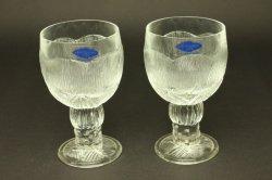 (買付)ARABIA(アラビア)/Nuutajalvi Pioni グラス 2個セット