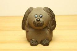 (買付) JIE Gantofta Annika Kihlman 犬のオブジェ