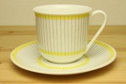 GUSTAVSBERG(グスタフスベリ)Pike(ピケ)コーヒーカップ&ソーサー1