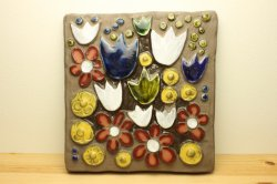 JIE Gantoftaのお花の壁飾り(チューリップ)