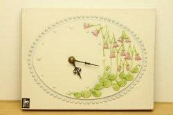 JIE Gantoftaのお花の時計(リネア)