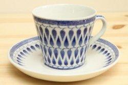 UPSALA-EKEBY/GEFLE(ウプサラ・エクビー/ゲフル)のLillemorコーヒーカップ&ソーサー青