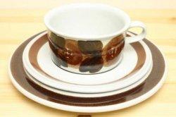ARABIA(アラビア)のRosmarin(ロスマリン)ティーカップ&ソーサー&皿20