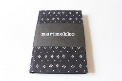 Marimekko(マリメッコ)のムイヤのノート(MUIJA 黒)