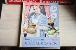 スウェーデンのお料理本:Husmoderns koksalmanack1958