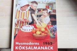 スウェーデンのお料理本:Husmoderns koksalmanack1962