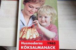 スウェーデンのお料理本:Husmoderns koksalmanack1963