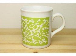 Marimekko(マリメッコ)のライムグリーンのマグカップ