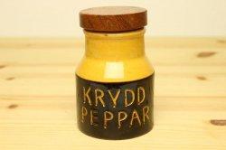 HOGANAS(ホガナス)木蓋のポットS(KRYDD PEPPAR)