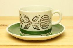 UPSALA-EKEBY/GEFLE(ウプサラ・エクビー/ゲフル)SMYRNAのコーヒーカップ&ソーサー