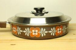 NILS JOHAN(ニルスヨハン)レトロな絵柄の片手鍋