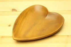 MONKEYPOD ハート型の小さな木製トレイ