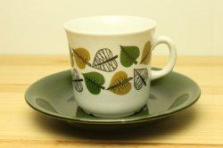 UPSALA-EKEBY/GEFLE(ウプサラ・エクビー/ゲフル)Bladranka コーヒーカップ&ソーサー1