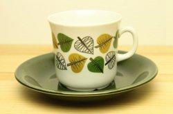 UPSALA-EKEBY/GEFLE(ウプサラ・エクビー/ゲフル)Bladranka コーヒーカップ&ソーサー2