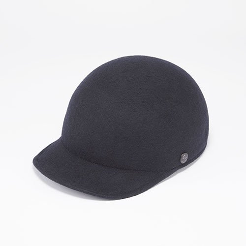 CAP / WOOL FELT / BLACK(キャップ / ウールフェルト / ブラック)「帽子」
