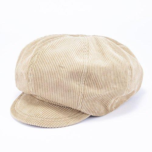 CASQUETTE / LOOSE・CORDUROY(キャスケット/ ルーズ・コーデュロイ)「帽子」
