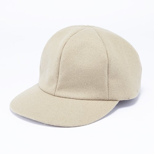<font color=red>NEW  ARRIVAL</font> 6 PANEL CAP / BLIND MELTON(6パネルキャップ/ ブラインドメルトン)