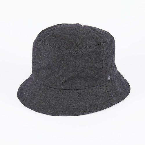 BUCKET HAT / DENIM / BLACK(バケットハット/ デニム/ ブラック)「帽子」