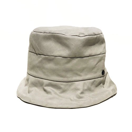 <font color=red>NEW ARRIVAL</font> BUCKET HAT / CURL BRIM・COTTON SERGE(バケットハット/ カールブリム・コットンサージ)「帽子」