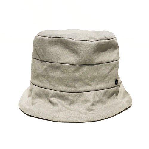 BUCKET HAT / CURL BRIM・COTTON SERGE(バケットハット/ カールブリム・コットンサージ)「帽子」