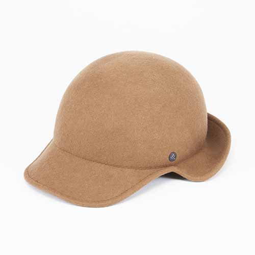 <font color=red>RE STOCK</font> FELT CAP /  EAR FLAP(フェルトキャップ / イヤーフラップ)「帽子」