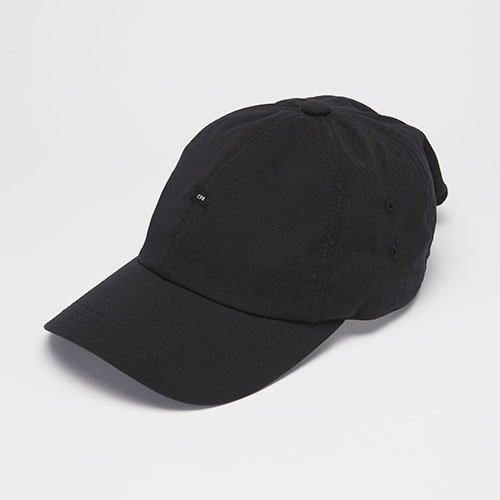 <font color=red>NEW</font> 6 PANEL CAP / NYLON BAGGY / BLACK(6パネルキャップ/ナイロンバギー/ブラック)「帽子」