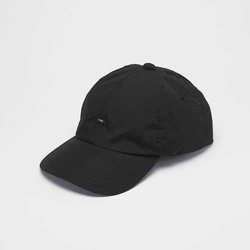 <font color=red>NEW</font> 6 PANEL CAP / POLY COTTON WEATHER / BLACK(6パネルキャップ/ポリ コットン ウェザー/ブラック)