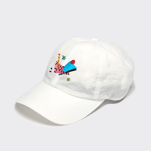 <font color=red>SOLD OUT</font>MEMPHIS / 80s CAP / WHITE(メンフィス / 80sキャップ / ホワイト)「帽子」