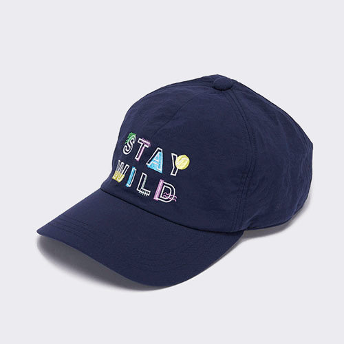<font color=red>NEW</font> MEMPHIS / STAY WILD CAP / NAVY(メンフィス / ステイワイルドキャップ/ ネイビー)「帽子」