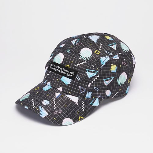 <font color=red>NEW</font> MEMPHIS / GRID CAP / BLACK(メンフィス / グリッドキャップ/ ブラック)「帽子」