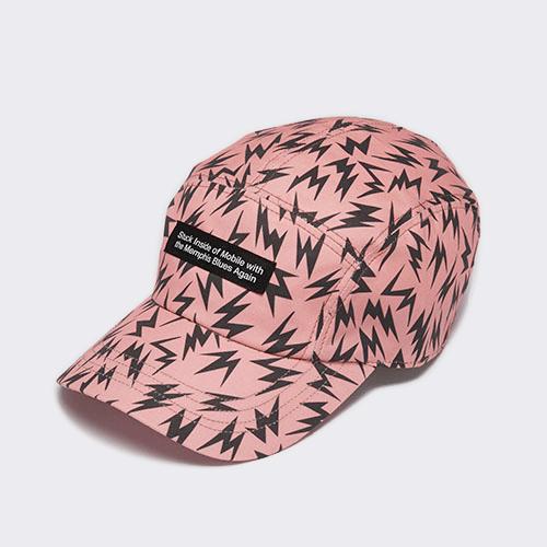 <font color=red>NEW</font> MEMPHIS / LIGHTNING CAP / PINK(メンフィス / ライトニングャップ / ピンク)「帽子」