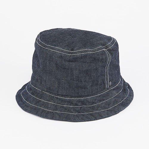 BUCKET HAT / DENIM / NAVY(バケットハット/ デニム/ ネイビー)「帽子」