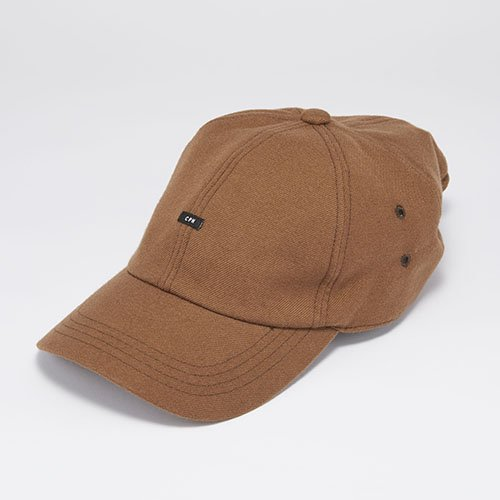 <font color=red>SOLD OUT</font> 6 PANEL CAP / SARGE BAGGY / BROWN(6パネルキャップ/サージバギー/ブラウン)「帽子」