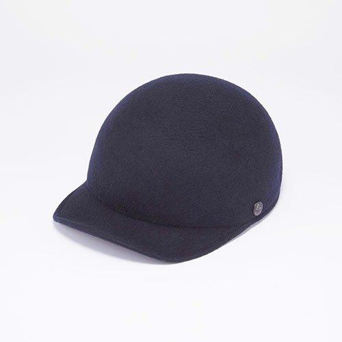 <font color=red>RE STOCK</font> CAP / WOOL FELT / NAVY(キャップ / ウールフェルト / ネイビー)「帽子」