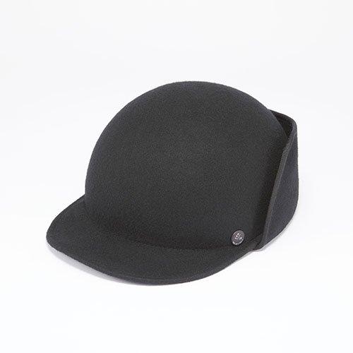 FELT CAP / EARMARKS / BLACK(フェルトキャップ / イアマーク / ブラック)「帽子」