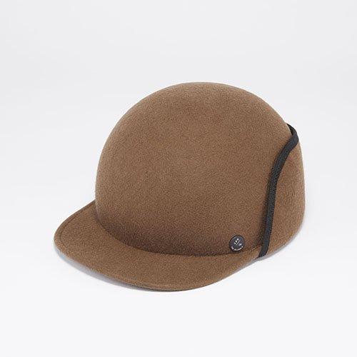 FELT CAP / EARMARKS / BROWN(フェルトキャップ / イアマーク / ブラウン)「帽子」