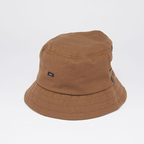 <font color=red>RE-STOCK</font> BACKET HAT / SARGE BAGGY / BROWN(バケットハット/サージバギー/ブラウン)「帽子」